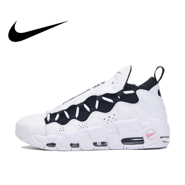 NIKE AIR MORE MONEY Original Authentic Mens Basketball Shoes Sport Outdoor Sneakers Good Quality Comfortable Durable AJ2998