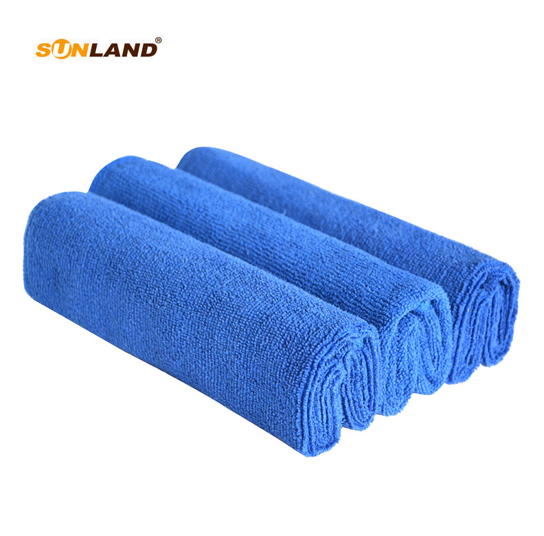 3-Pack Microfiber cleaning cloths kitchen towel dish cloth car cleaning  window glass dust cleaning quick drying lint free