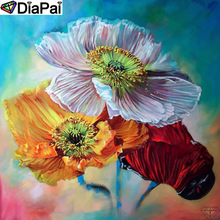 DiaPai Diamond Painting 5D DIY 100% Full Square/Round Drill Flower landscape Diamond Embroidery Cross Stitch 3D Decor A24637 diapai 100% full square round drill 5d diy diamond painting flower landscape diamond embroidery cross stitch 3d decor a21095