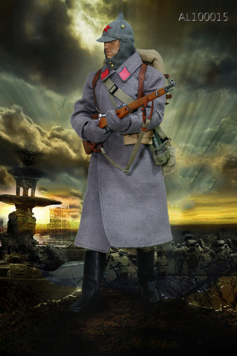 1/6 Scale Soldier Clothes Set WWII Soviet Red Army Infantry Equipment Set For 12 Inches Action Figures Collections world war ii german wwii wehrmacht officer 1 6 soldier set model stanford erich vo gm637 for gift collection