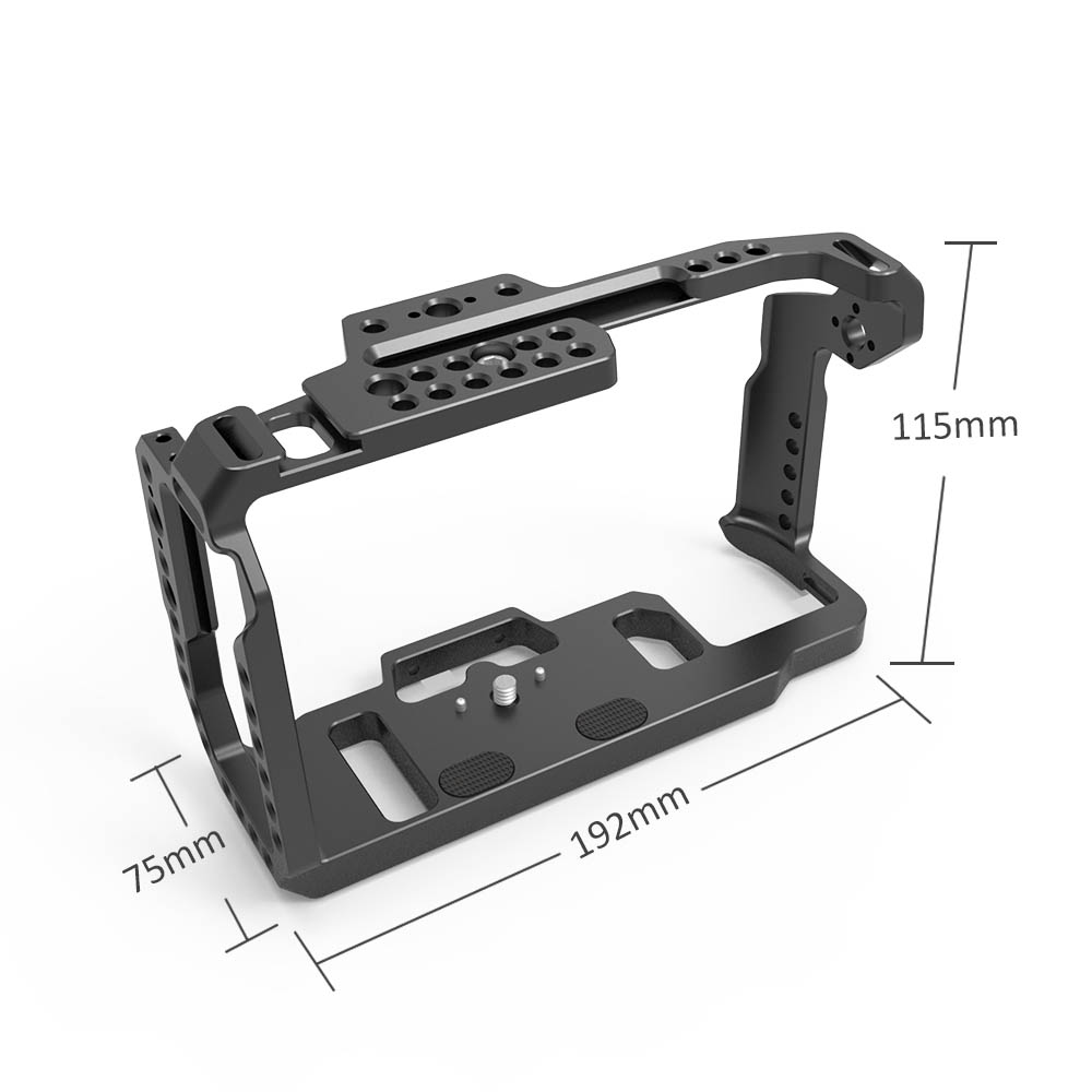 Image 4 - SmallRig Cage for Blackmagic Design Pocket Cinema Camera 4K BMPCC 4K / BMPCC 6K With NATO Rail Thread Holes for DIY Options 2203-in Camera Cage from Consumer Electronics