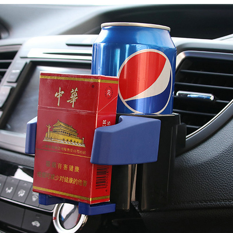 Multi - functional beverage racks mobile phone frame cup holder two - in - one cigarette case shelves