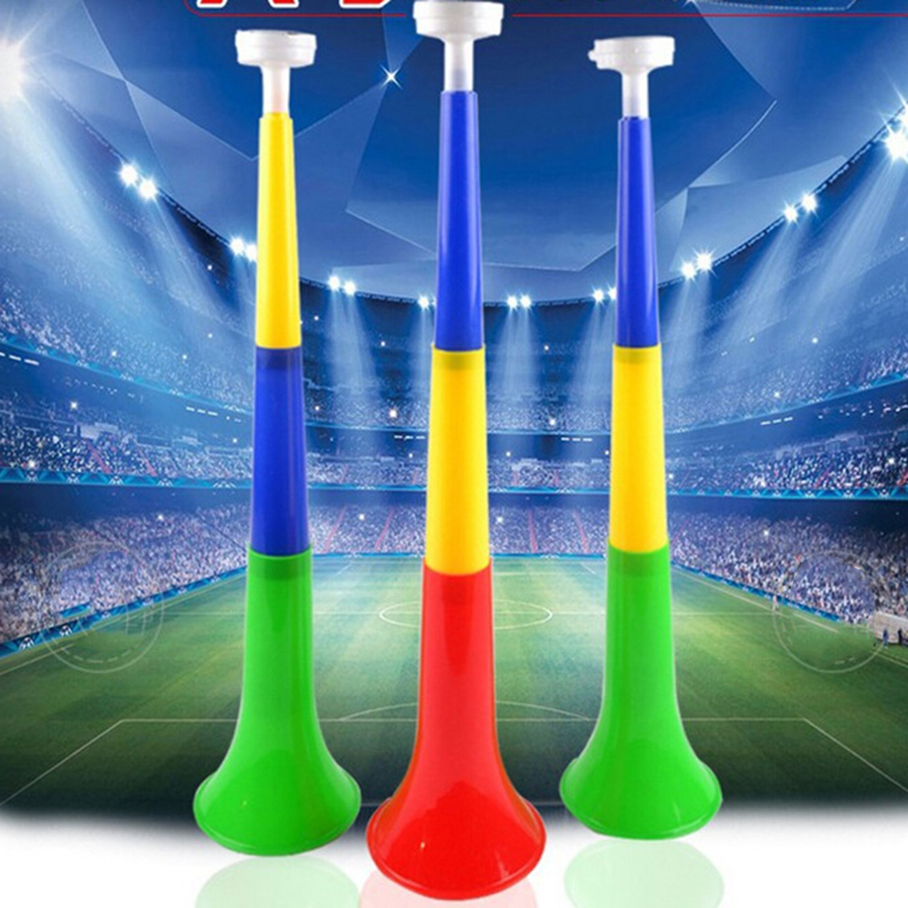 Musical Instruments Random Color Removable Football Stadium Cheer Horns Vuvuzela Cheerleading Horn Kid Trumpet Toy