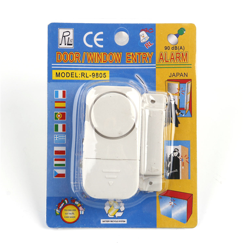 Wireless Remote Control Door Sensor Alarm Door Window Entry Burglar Alarm Signal Safety Security Alarm Switch Guardian Protector forecum 433mhz wireless magnetic door window sensor alarm detector for rolling door and roller shutter home burglar alarm system