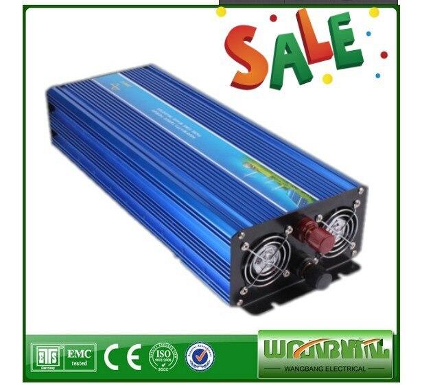 digital display 3000W 24VDC to 220VAC Portable Pure Sine Wave Power Inverter