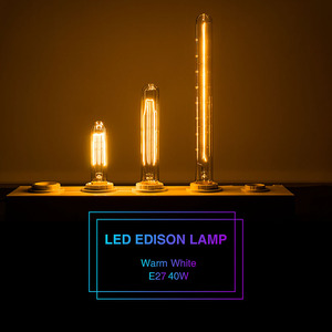 Vintage LED Edison Bulbs T300