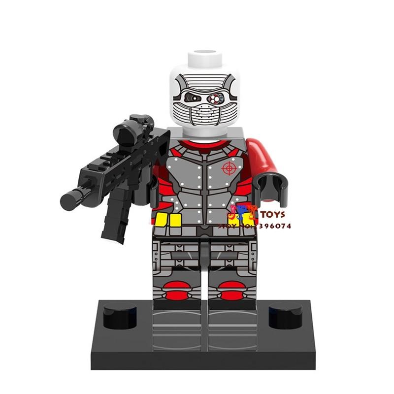 Одной продажи Звездные войны супергероев Marvel отряд самоубийц Дэдшот строительные блоки Модель Кирпичи игрушки для детей Brinquedos Menino