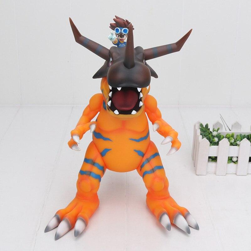 Super grand 30 cm numérique Digimon Greymon & Taichi Yagami figurine YAGAMI TAICHI Greymon PVC Figure jouet-in Jeux d'action et figurines from Jeux et loisirs    2