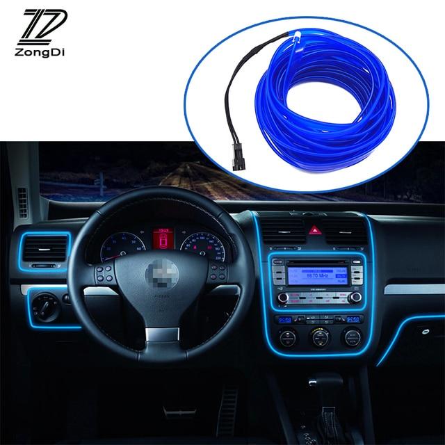 Zd coche interior atm sfera luces decoraci n tiras de luz para honda civic nissan qashqai ford - Decoracion interior coche ...