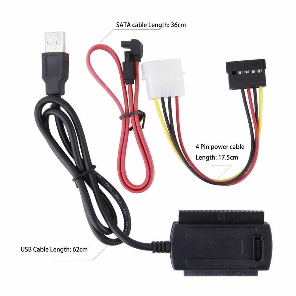 medium resolution of arrival sata pata ide drive to usb 2 0 adapter converter cable for 2 5