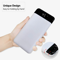 100% NEW 20000mAh Power Bank Dual USB LCD Powerbank Poverbank Portable External Battery Pack Charger For Xiaomi Mobile Phone