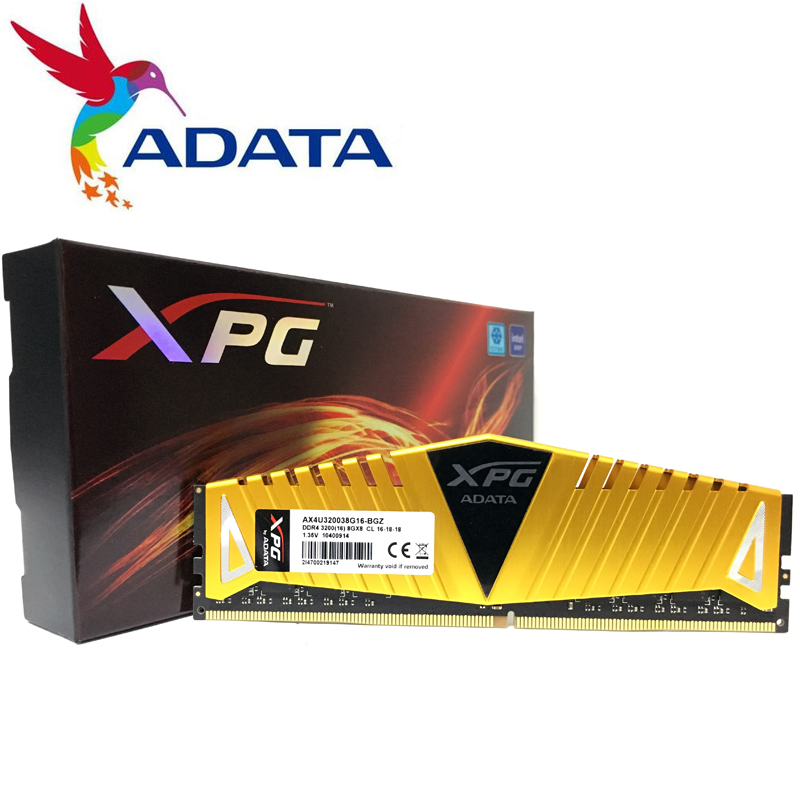 ADATA XPG Z1 /8GB/16GB PC Desktop Memory 2666MHz/3000MHZ 3200MHZ 2400MHz RAM Memorye 1.2V 1.35V PC4 For DDR4 motherboards|RAMs| - AliExpress