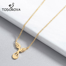 Todorova Geometric Leaf choker Necklaces for Women and Roots & Pendants Jewelry Party Accessories Gift