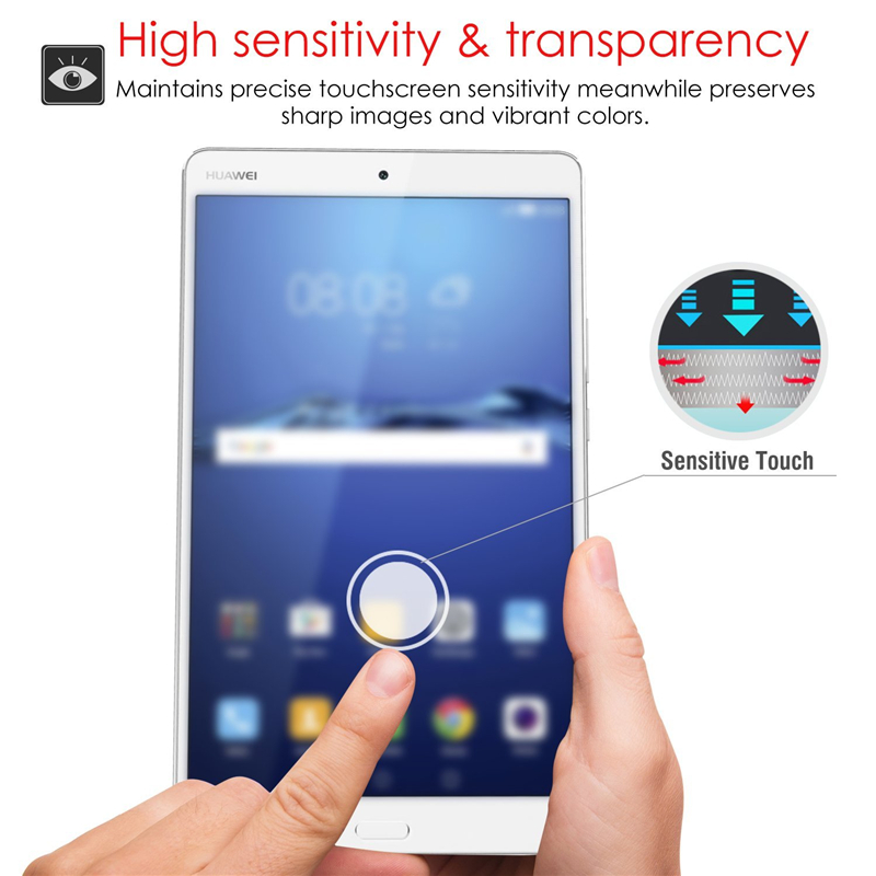 For 96inch Huawei Mediapad T3 10 Tempered Glasslcd Screen Tablet