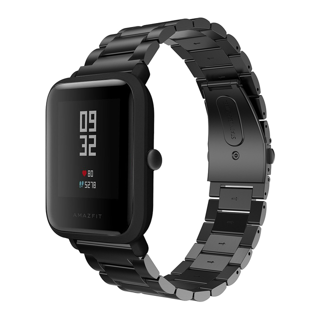 Strap for Xiaomi Huami Amazfit Bip Youth/Amazfit GTS Smart Watch 20mm Bracelet Wrist Band Milanese Loop Metal Stainless Steel | Watchbands