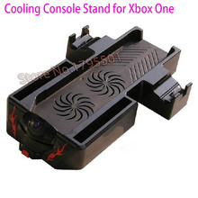 2016 Newest 4-in-1 Dual Console Cooling Fan & Console Controller Gamepad Dual Charging Charger Station for Microsoft XBOX ONE