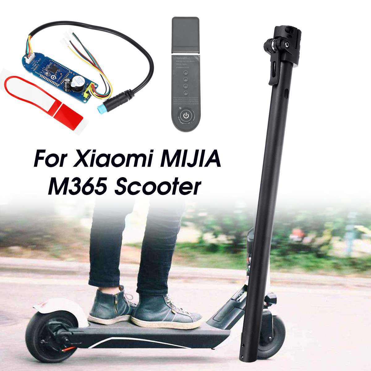 For Xiaomi M365 Scooter Folding Pole Circuit Board Dashboard Cover Replace Parts