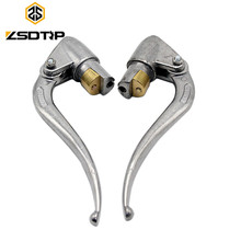 Free shipping ZSDTRP motor 1 pairs Ural KC750 original left clutch and right brake hand grip lever case for BMW M1 M72