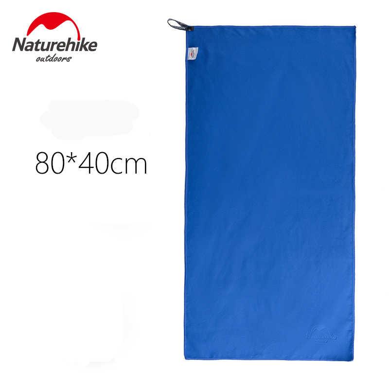 NatureHike nowy podróży ręczniki z mikrofibry antybakteryjne szybkie suszenie torba ręcznik do twarzy dla podróży Camping sportowe na świeżym powietrzu 80*40 130*73