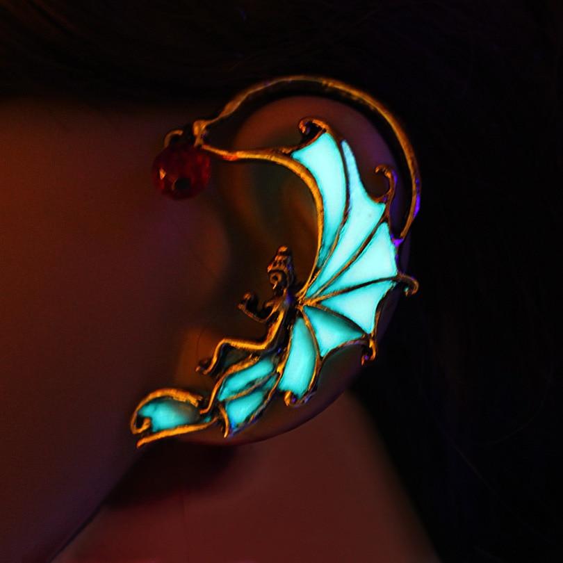 Aliexpress.com : Buy FLOWER Angel Ear Cuff Fairy Ear Cuff ...