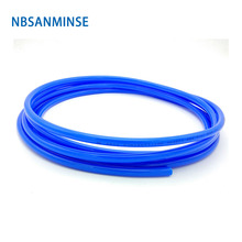 5 Meters / Lot Free Shipping PU Tube Pneumatic Hose Air Compressor Pipe Polyurethane 4mm * 2.5mm 6mm Sanmin