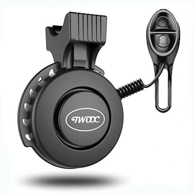 120db USB Перезаряжаемые велосипед электрический звонок Водонепроницаемый велосипед кольцо Рог для МТВ дорожной сигнализации сигнальный звон...