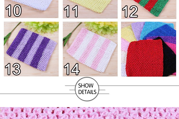 FENGRISE X23cm Tulle Spool Tutu Crochet Chest Wrap Tube Tops Apparel Sewing Knit Fabric Girl Birthday Gifts Headbands Skirt 6