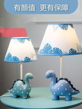 Cartoon Kreative Bunte Dinosaurier Tisch Lampe Jungen Und Mädchen Schlafzimmer Kinderzimmer Lampe Moderne Einfache LED Tier Tisch Lampe