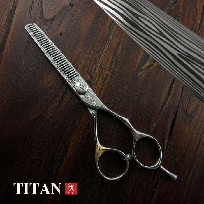 Nożyczki do włosów damaszek degażówki nożyczki damaszek nożyczki do włosów damaszek nożyczki fryzjerskie narzędzia do salonu w Nożyczki do włosów od Uroda i zdrowie na  Grupa 1