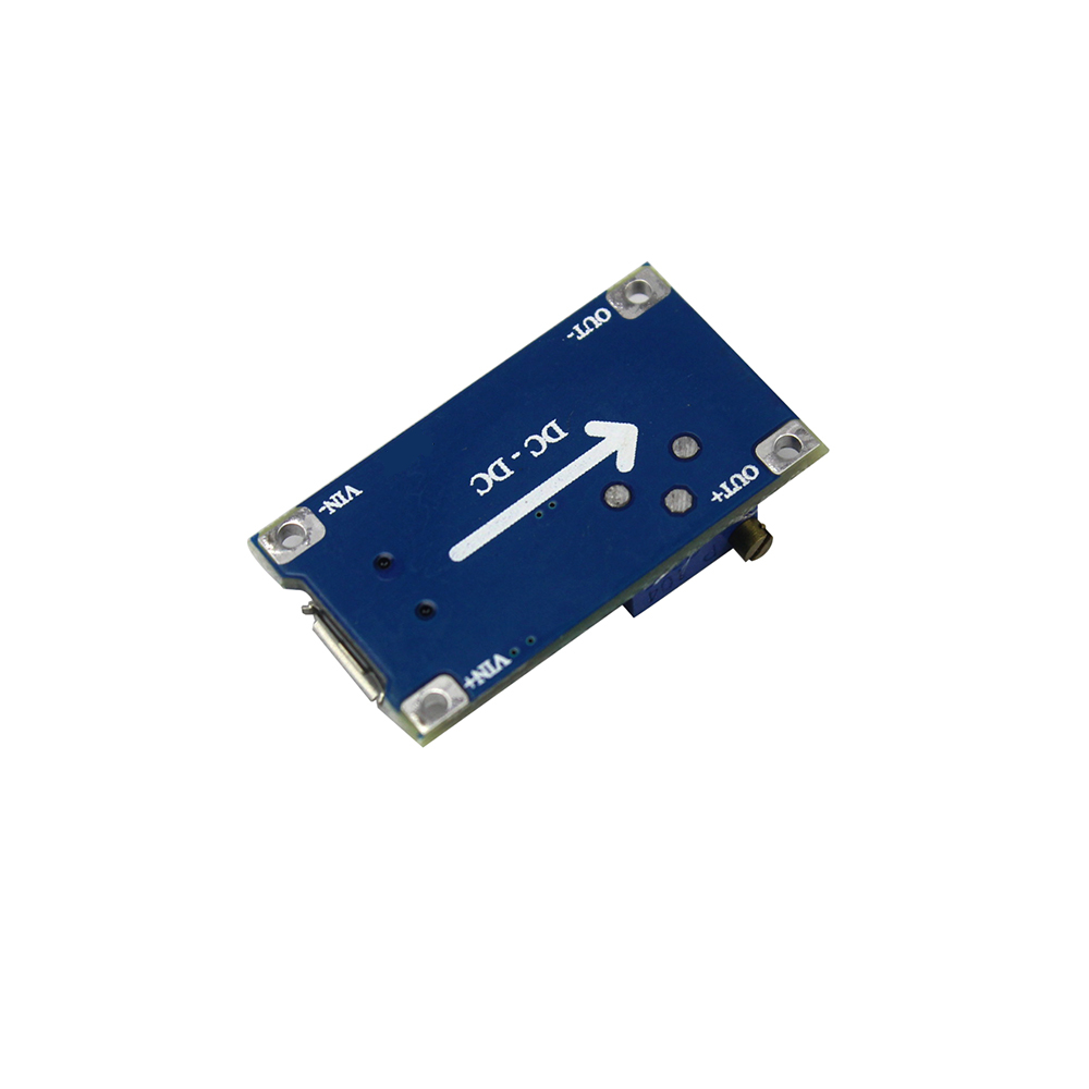 Dc Adjustable Boost Module 2a Plate Step Up With Circuits Apmilifier 5v To 12v Lm2577 Converter Voltage Micro Usb 2v 24v 9v 28v Mt3608 In Integrated From Electronic