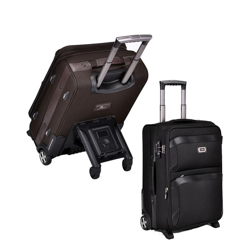 LeTrend 多機能スケートボードローリング荷物男性ビジネススーツケースホイールにキャリートロリー 28 インチ大容量トラベルバッグ  グループ上の スーツケース & バッグ からの キャスターバッグ の中 1
