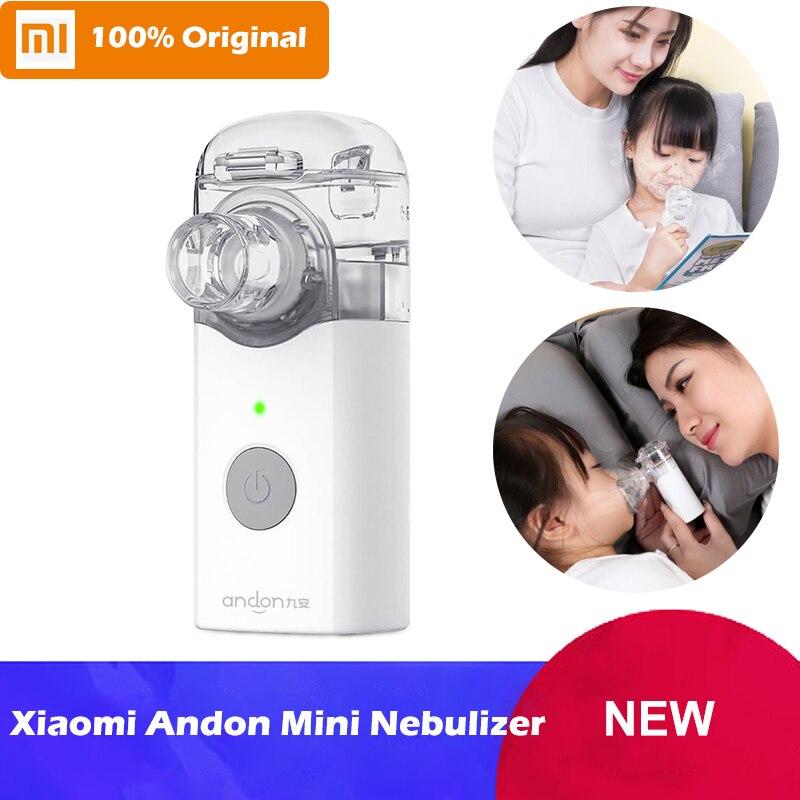 Xiaomi Mijia Jiuan Andon Portable Atomizer Mini Nebulizer Handheld Inhaler Respirator for Children and Adult Cough
