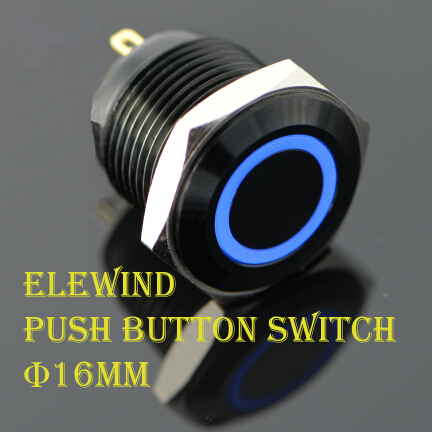 ELEWIND 16mm push button switch (PM161F-10E/J/B/12V/A) nokia ac 10e
