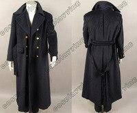 Новое поступление пользовательские Торчвуд капитан Джек Харкнесс Тренчи для женщин Шерстяное пальто Косплэй костюм