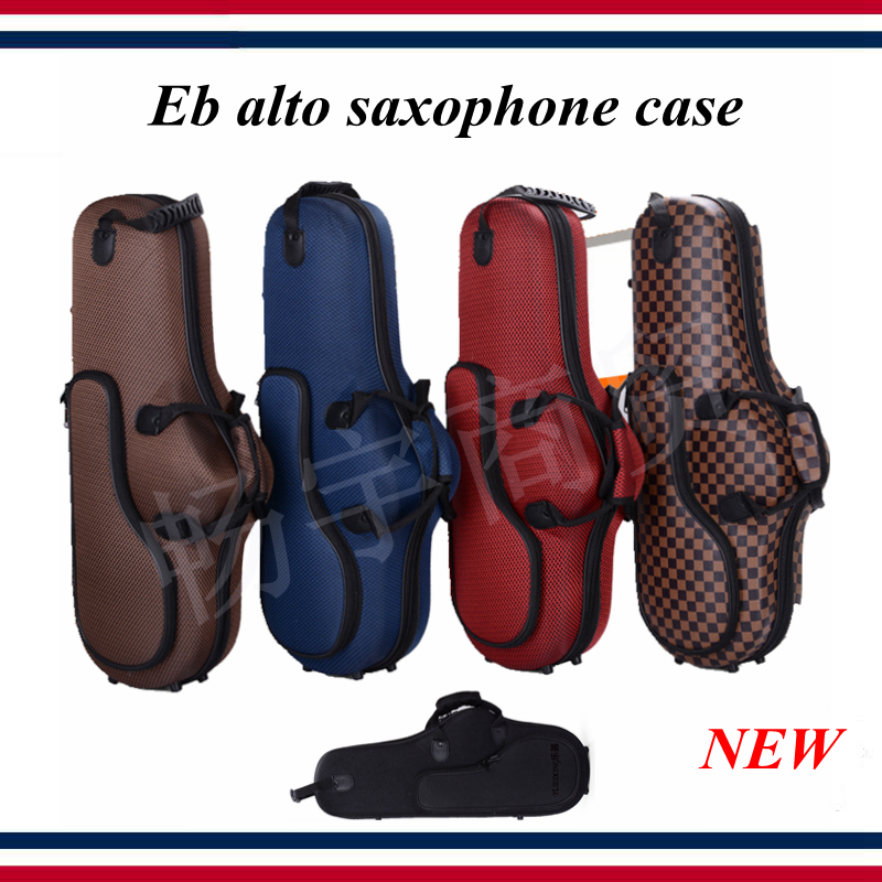 Eb Alto Saxophone Case , New Box Shockproof, Waterproof Wear-resistant  Saxophone Parts