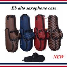 цена Eb alto saxophone case , new box shockproof, waterproof wear-resistant  saxophone parts онлайн в 2017 году