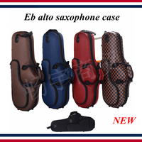 Eb alto saxophone case , new box shockproof, waterproof wear resistant saxophone parts