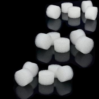 15 sztuk miękkie filtry gąbka garnitur dla nebulizatora sprężarki powietrza akcesoria inhalator cewnik Atomizer puchar opieki zdrowotnej dla dorosłych dziecko tanie i dobre opinie OPSLEA Air Compressor Nebulizer 3 Packs = 15 Pcs(1 pack = 5pcs) White Plastic Bags 15*10mm Filters Sponge R-163