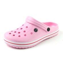 New Summer Women Sandals 2017 New Croc Woman Beach Shoes Hollow Slippers Hole Breathable Flip Flops Cute Non slip Sandals XC42