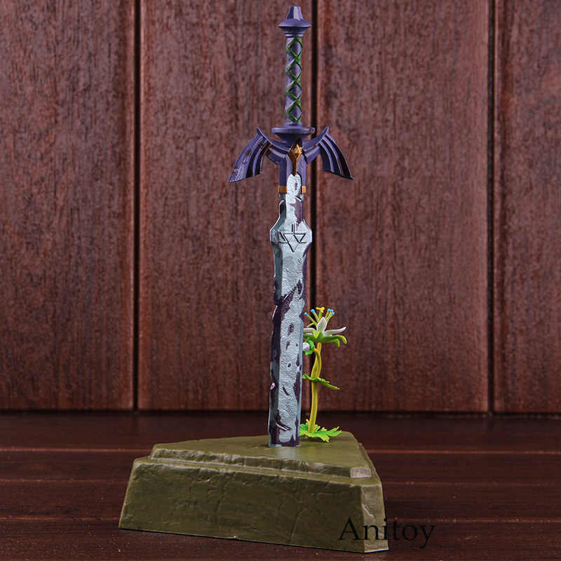 Breath Of The Wild Figure Action Master Sword Skyward Sword Pvc Collectible Model Toy