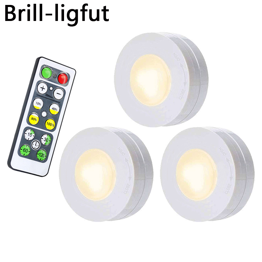 Dimmable Touch Sensor LED Under Cabinet Light Wall Lamp Wardrobe Cupboard Closet Light Emergency Kitchen Night Light For Home