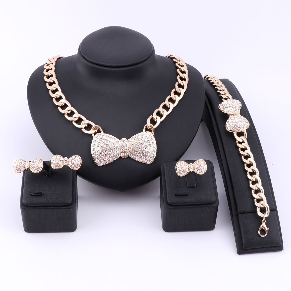 Nigerian Wedding Gifts: Bridal Gift Nigerian Bowknot Wedding African Beads Jewelry