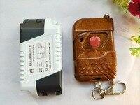 GK04A RF Remote Control Switch AC 85V 110V 220V 1CH 10A Relay Wireless Light Remote Switch