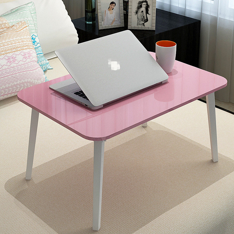 Size:60.2*40.2*28.7cm Dormitory Desk Lazy Folding Table Portable Notebook Computer Desk Bed