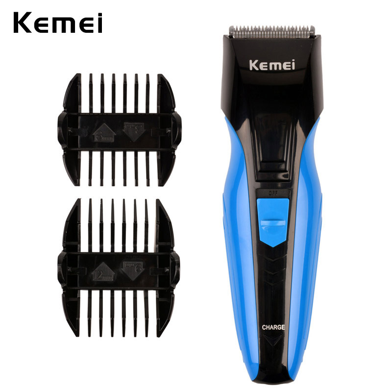 Professional Kemei Rechargeable Men Electric Hair Clipper Hair Trimmers Razor Shaver Beard Shaving Cutting Machine Kit Face Care professional pet electric push cats and dogs rechargeable dog shaver teddy electric fader dog shaving knife