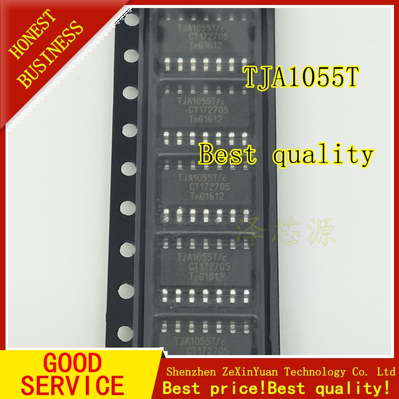 10PCS/LOT TJA1055 TJA1055T TJA1055T/c SOP14 Data Interface Chip
