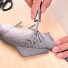 Stainless Steel Kitchen Fruit Tools Coconut Shaver Kitchen Fish Clean Scales Tools Kitchen Accessories