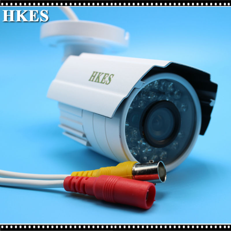 HKES Low Illumination FULL HD 1080P AHD CCTV IR Bullet Camera 2MP 960P 720P 1MP Outdoor Camera CCTV Waterproof full hd cctv camera 1080p outdoor security camera 2mp ahd bullet camera 960p 720p ultral low illumination