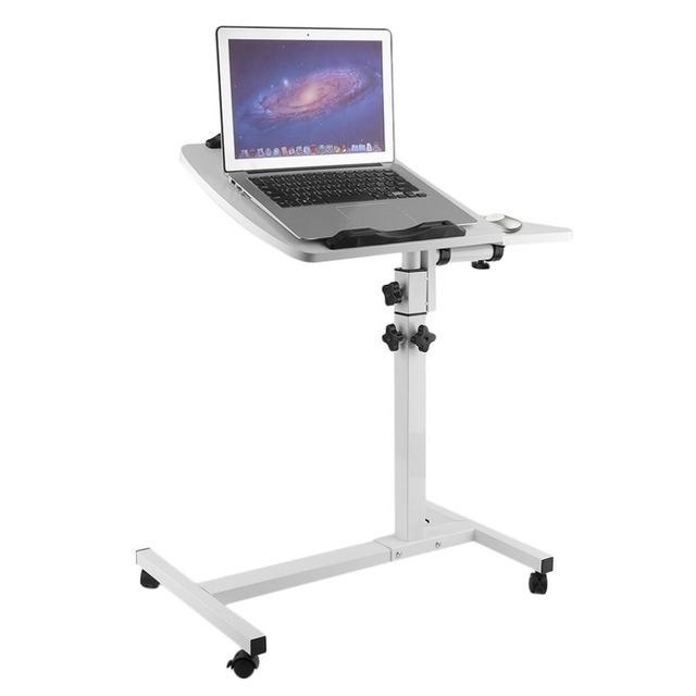 Portable Lazy Folding Laptop Table Home Adjustable Height Notebook