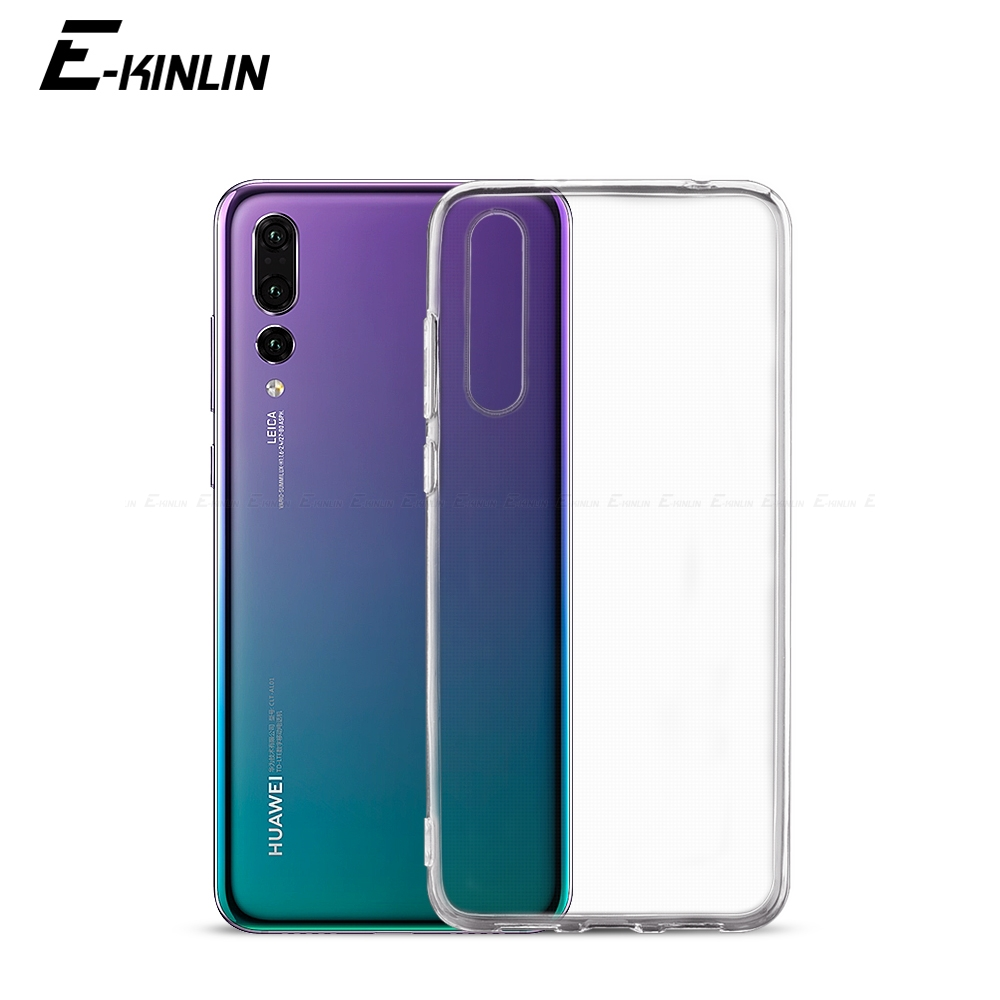 UltraThin TPU Case For HuaWei P40 P30 P20 Mate Honor 30 30S 20E 20S 10i View 10 20 X Lite E XL Pro Plus 5G Clear Silicone Cover(China)
